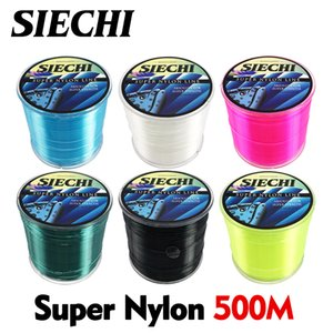 500m Super Strong Super Stealth Nylon Fishing Line 4-28LB Monofilament Line Japan Main Line for Carp Fishing Tackle