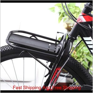 Baskets Accessories Sports Outdoors Drop Delivery 2021 Cycling Mountain Bike Aluminum Alloy Front Rack Bracket Bicycle Carrier Pannier Racks