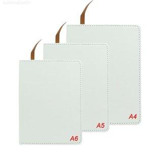 الكاملة priting التسامي دفتر A4 A5 A6 فارغة أبيض نقل الحرارة الطباعة الطباعة المفكرة ل diy طالب ملاحظة كتاب مع صفحات scho جيدة جدا