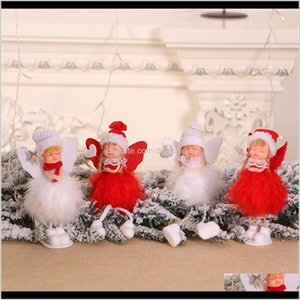 Decorations Festive Party Supplies & Garden Drop Delivery 2021 1Pcs Year Angel Girl Dolls Xmas Tree Ornament Noel Deco Christmas Decoration F