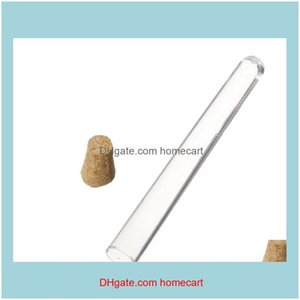 Lab Industrial Supplies Mro Office School Business & Industrialplastic With Cork Stopper 7Ml 10Ml 12Ml 15Ml 20Ml 25Ml 30Ml 50Ml Test 20 Clea