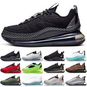 720-818 Running Shoes Men Women Black Grey Magma University Red Silver Bullet Clean White Aqua Mens Trainer Sport Sneakers Size 36-45