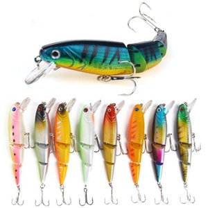 Fishing Lures Flexible Artificial Multi Jointed Bait Hooks Fishing Tackle Tool Crankbait For Perch Pike UVf abc2007 1649 Z2