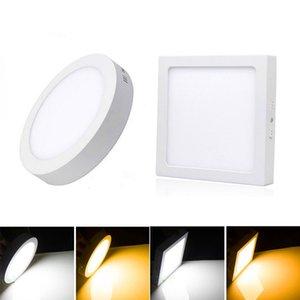 9W 15W 25W 30W круглые светодиодные панели света на поверхности поверхности подвесной потолочный потолок на 85-265 В лампада лампада светильника с драйвером огней