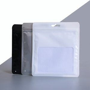 Small clear plastic seal bag self sealing mask socks packing bags jewelry package