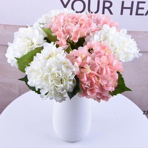 Artificial Hydrangea Flowers Ball Colorful Round Flower Balls Wedding Decoration Shopping Mall Festival Party Ornaments HWF10696