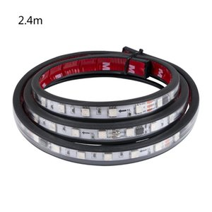24v LED Truck Cab Light Mid-net Turn Signal Accessories Headlights Colorful Warning Decorative Emergency Lights