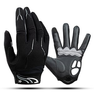 Coolchange gloves Mountain Bike Touch screen glove Cycling Full finger glove silicone shock absorption glove motorcycle gloves fishing MTP Accessories