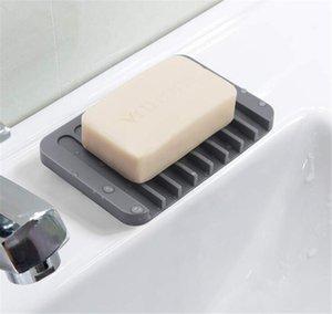 Portavolo all'ingrosso portata cascata barra vassoio vassoio bagno da cucina vasca da bagno in silicone saver spugna EEB5986