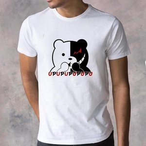 Dangan Ronpa Anime Gothict-shirts Danganronpa Spiel über Hip Hop Kurzarm Tops Männer Harajuku Baumwolle O-Neck Streetwear Herren T-Shirts