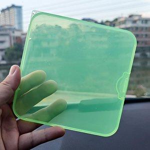 12style Face Mask Storage Box Case Portable Disposable Face Masks Container Dustproof Mask Case Transparent Plastic Organizer Bins 537 S2