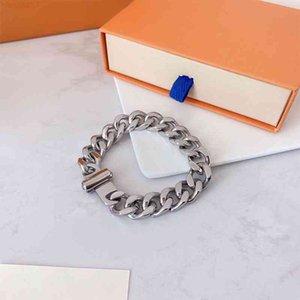 Männer und Frauen Armband Halsketten Schmuck Anhänger Hohe Qualität Magnetische Button Edelstahl Titan Diamant Fashion Halskette Mehrere Arten mit Kasten
