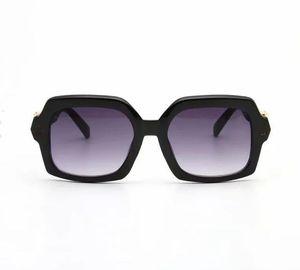Hombres Moda Gafas de sol Polarizadas Len Plaza Marco Sunglass Mans Gafas Retro Eyegla Designer Metal Occhiali Da Sole Punk Sonnenbrille