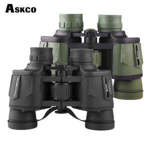 Askco Binoculars 8X40 Professional Hunting Telescope Zoom High Quality Big Clear lll Night Vision Waterproof Binoculars For Hunt