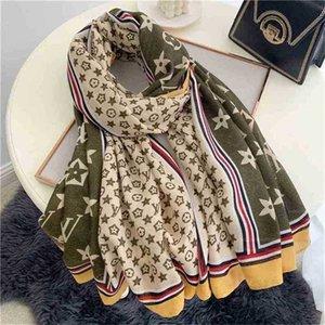 1 piece drop shipping 180x90cm designers scarf scarve big large women's shawl ventage retro wrap square elegent winter warm scarves boutique favor G97XYRZ