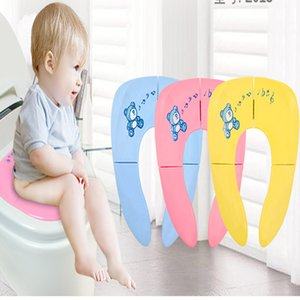 Baby Travel Folding Potty Seat toddler portable Toilet Training seat children urinal cushion children pot chair pad  mat
