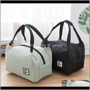 Housekeeping Organization Home & Garden Drop Delivery 2021 For Women Kids Men Insulated Canvas Box Tote Bag Thermal Cooler Lunch Bags Waterpr