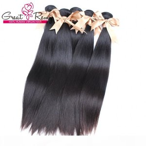 10 paquetes Extensión del cabello brasileño barato Weight Human Hair Weave Great Remy Factory Outlet Special para mujeres negras