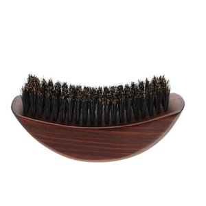 Hair Brushes 1pc Comfortable Beard Brush Curving Male Mustache Shaping Grooming Tool