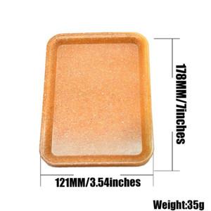 Acrylic cigarette tray linen natural color cigarette tray 18cm operation panel