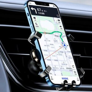 Cell Phone Mounts & Holders Mini Air Outlet Mobile Holder Car Creative Gift Customize A Navigation Gravity Support Frame