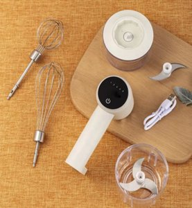Çok fonksiyonlu 3 in 1 stand et değirmeni elektrikli karıştırıcı yumurta çırpma teli için 300 veya 100 ml kase gıda ve sebze kıyma ile karıştırma çırpma makinesi
