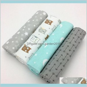 Sheets & Sets Bedding Supplies Home Textiles Garden 4Pcs  Lot Born Baby Bed Sheet Set 76X76Cm For Crib Cot Linen 100 Percentcotton Fla