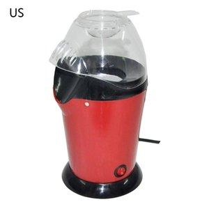 Popcorn Maker J0PE 1200W Electric Air DIY Automatic Mini Corn Machine Oil Free Kids Gift US EU Plug