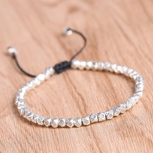 Bracelet for Women Popular Ethnic Style Geometric Design Light Luxury Beaded Bracelet Jewelry Accessories Wholesale 789 Q2