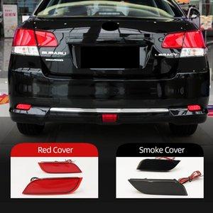 2PCS Backup Tail Light Rear Bumper Lamp LED Reflector Stop Brake Warning Fog For Subaru Impreza XV WRX LEVORG Crossove