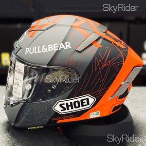 Full Face X14 93 Marquez black concept Motorcycle Helmet anti-fog visor Man Riding Car motocross racing motorbike helmet-NOT-ORIGINAL-helmet