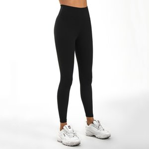 Double-sided Sanding Nude Yoga Leggings Pants High Waist Exercise Fitness Pant Capris Sports Running Gym Clothes Women Legging