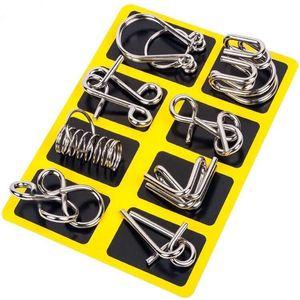 Core en métal Sticks Magic Sticks Toy IQ Test Mind Mind Jouets Jouets Cerveaux Teaser métal Puzzles 1010 V2