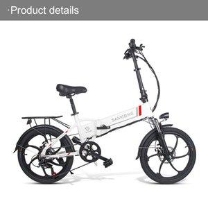 Samebike 20LVXD30-II Vélo électrique pliable 32km / h Smart Bicycle Smart Bicycle 48V 10.4Ah Batterie 20 pouces TIRE EBIKE Aucun impôt mis à jour