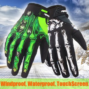 Motorcycle Winter Gloves Joint Printing Motorbike Riding Screen Touch Guantes Motocross Racing Cycling Bicycle Gloves Gant Men