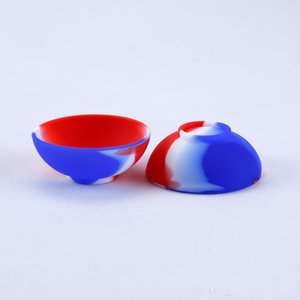 Bowl Shape Silicone Container Food Grade Small Rubber Non-stick Jars Dab Tool Storage Oil Holder Mini Wax Container for Vaporizer OWC7438