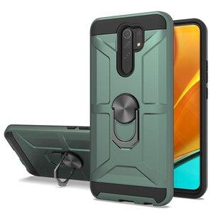 Casos de caso de anel para Xiaomi MI 10T Lite Poco X3 M3 Redmi Nota 9s 9 Pro Max 9C 9A 8 8A Kickstand Cover