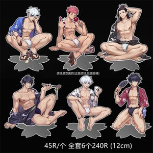 Anime Jujutsu Kaisen Itadori Yuji Acrylic Collection Stand Figure Mouse Pad Mice Pad Model Cartoon Cute Desk Decor Toy Gift R0327