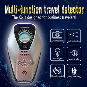 X6 Spy Activity Trackers Thing Gadget Detector Finder Anti Mini Bug Hidden Camera Wireless GMS GPS Locator Signal Scanner Anti-Thief Cam