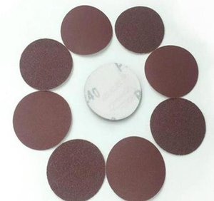 Pads Power Tools Home & Garden Drop Delivery 2021 Whism 3 Inches Sanding Paper Aluminum Oxide Polishing Pad Grinding Disc Sandpaper Polisher