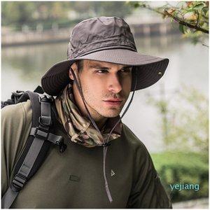 2020 Folding Bucket Hats Travel Fisherman Leisure Sunbonnets