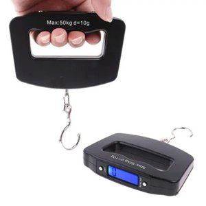 50kg 10g Portable LCD Scales Digital Fish Hanging Luggage Weight Electronic Hook Scale