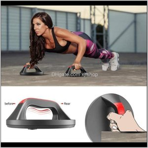 Integrated Equip Equipments Supplies Sports & Outdoors Drop Delivery 2021 1 Pair Rotating Circular Brackets Round Non Slip Push-Up Grip Train