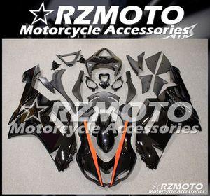 New ABS Whole Fairings kits fit for Kawasaki Ninja ZX-6R 636 2007 2008 07 08 ZX6R Bodywork set Black