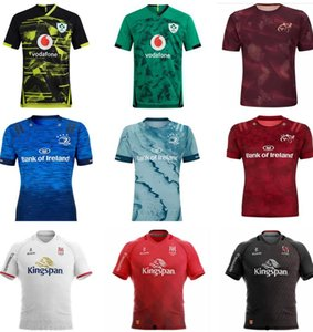 2019 cidade Copa do Mundo de rugby Irlanda Jerseys Irish IRFU NRL Munster Rugby League Leinster jersey alternativo 2020 2021 Ulster Camisetas Irlandês