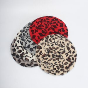 Leopard Pattern Hats Ins Fashion Travel Holiday Beret Wedding Banquet Bithday Party Novelty Lady's Dome Hat