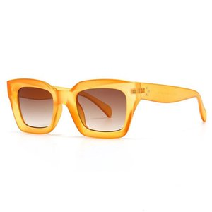 Fashion Cat Eye Sunglasses Women Designer Square Blue Purple Eyewear Female Nails Sun Glasses Shades UV400 Men