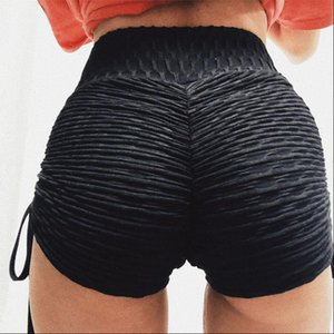European and Womens Shorts American Amazon Bubble Bow Summer Jacquard Casual Yoga Pants Drop Good Quality
