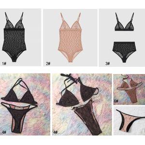High Quality Women Bikini Swimsuit Set Design Sports Bra Vest And Pants Leggings Swimwear Fashion Tracksuit Pools SpashG Supplies HH21-222