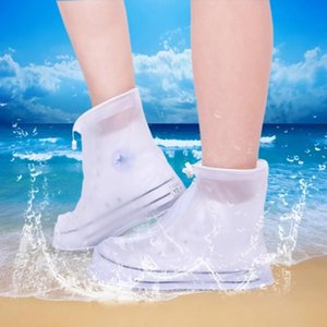 Outdoor Rain Shoes Boots Covers Waterproof Slip-resistant Overshoes Galoshes Travel For Men Women SN-22 Disposable
